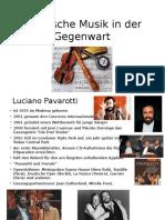 Klassische Musik in Der Gegenwart1