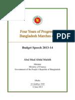 Speech en Budget