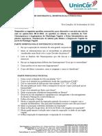 Estudo Dirigido III - Morfologia, Sistematica e Fisiologia