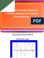 Calidad Energia Electrica y Mantenimiento Hospitalario