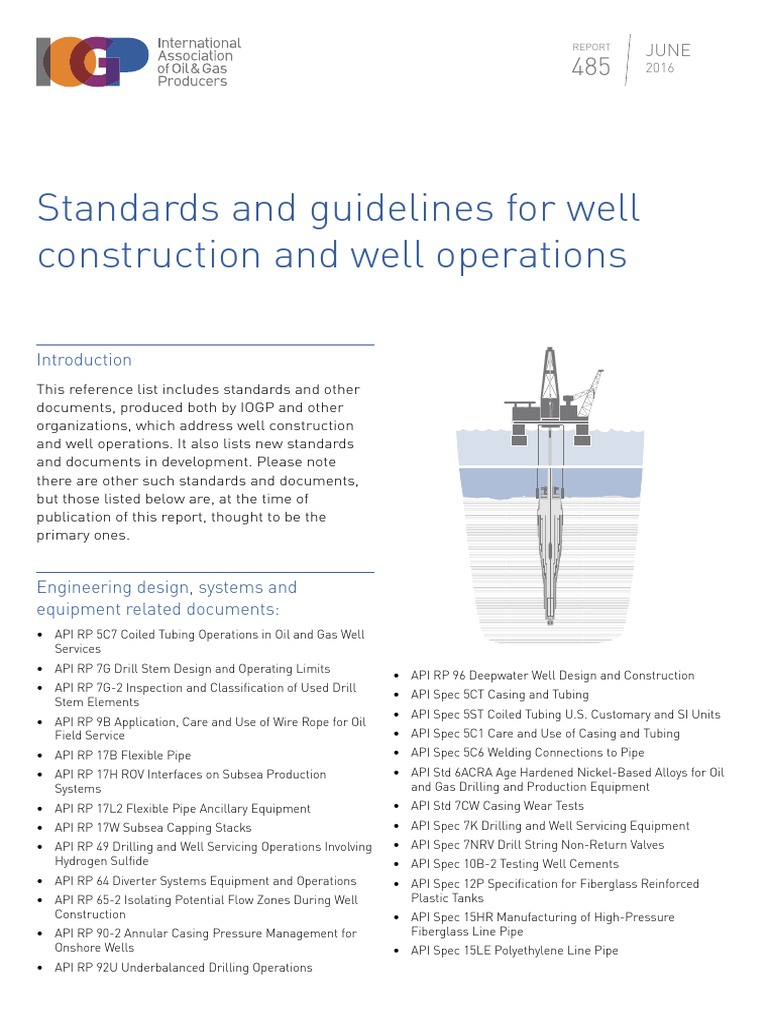 all api standarts for drilling subsea technology casing borehole rh es scribd com