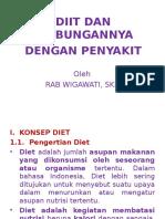 Konsep Diit & Hub. Dgn Penyakit Jadi