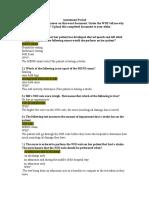 assessment packet