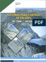 Sistemas Mt Para Control de Taludes