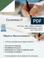 Aula II - Economia II