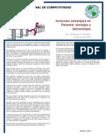 Inversion Extranjera en Panama Ventajas