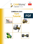 CamWorks Turn Tutorial