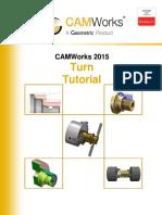 CamWorks Turn Tutorial