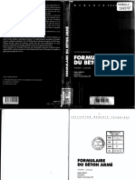 Formulaire Béton Armé v.davidovicci - Volume I
