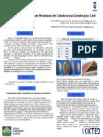 Argila Expandida com Resíduos de Celulose na Construção Civil