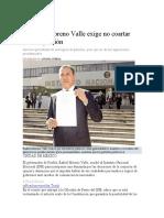 07.12.16 Moreno Valle exige no coartar libre expresión