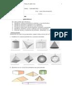 Guía Cuerpos geometricos 8° 2012