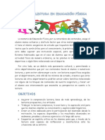 Proyecto Lectura en Educación Física