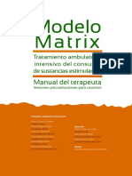 Manual MATRIX Terapeuta