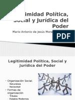 Legitimidad Política, Social y Jurídica Del Poder