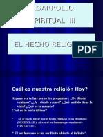 El Hecho Religioso Clase 1 y 2