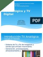 TV Analogica, TV Digital y Plataforma UMTS V5