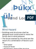 03. Wind Load