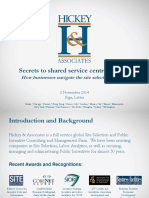 4. Four Ted Style Presentation Secrets to Shared Service Centre Success 06.11.2014