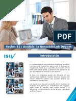Sesión 11 - Análisis de Rentabilidad Dupont