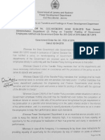 Transfer Policy PDD