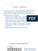 Dislocations - Ppt