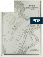 Map of Fort Snelling Reservation, 1885-93.