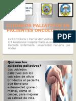 Cuidados Paliativos en Pacientes Oncologicos