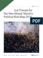Political Risk Map 01-2016