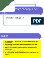1.-Antecedentes y Concepto de DEC