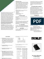 Morley Wah Wah Pedal - pdwman.pdf