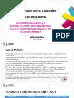 Guia Michoacana para la Deshabituación a Benzodiacepinas