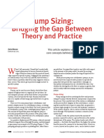 1. Pump Sizing Theory Practice