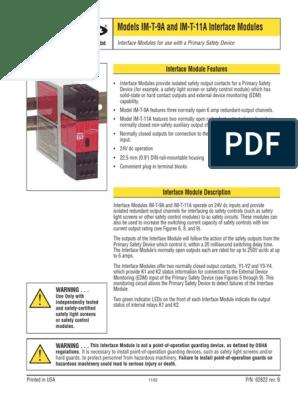 Banner-IM-T-11A-datasheet.pdf | Switch | User Interface on