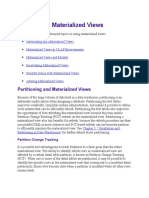 9 Advanced Materialized Views