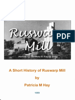 A Short History of Ruswarp Mill