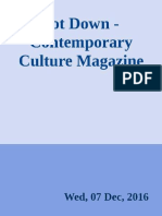 Jot Down - Contemporary Culture - Calibre 7/12