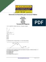 Geometria Forma Perimetro Area Volume Angulo Teorema de Pitagoras