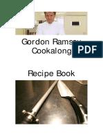 Gordon Ramsay Cookalong Recipe Book