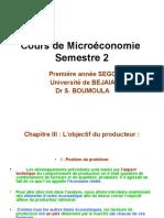 Cours de Microeconomie 2