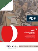 BSc International Business NEOMA BS En