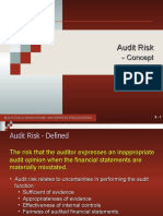10. Audit Risk - Concept