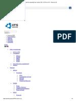 Projeto de Implantação Dos Sistemas SIG - UFRN Na UFG - Sistemas SIG