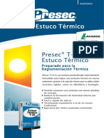 Presec T25 (Estuco Termico)