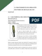 Detector de Metales Manual