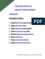Clase U 09 14 Fundaciones Superficiales