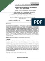 Dimensionamiento de un sistema Hidráulico en casa Habitación para el uso de Agua Residual.