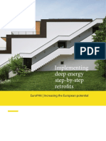 Implementing Deep Energy Step by Step Retrofits