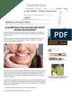 ¿Es Posible Hacer Crecer Una Nueva Pieza Dental