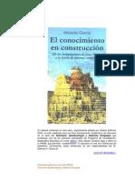 El Conocimiento en Construcción